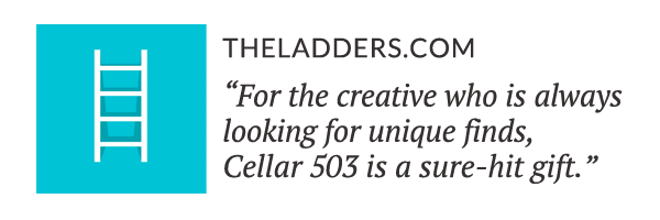 TheLadders.com: For the creative who is always looking for unique finds, Cellar 503 is a sure-hit gift.